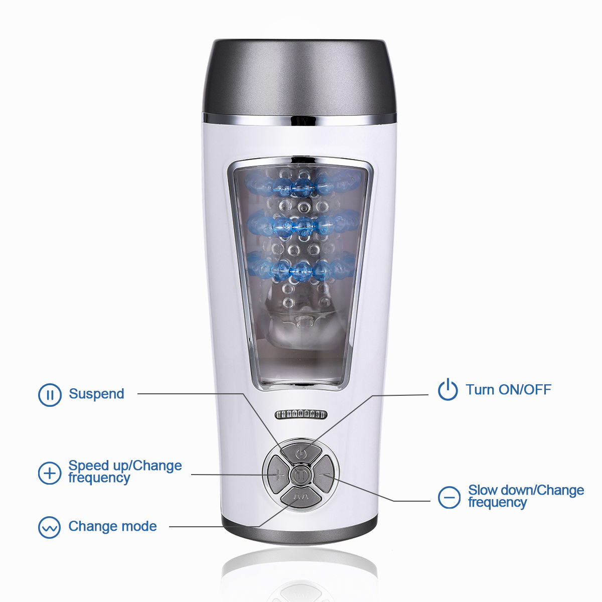 Automatic Piston Motion Masturbation Cup Sex Toys For Male Adult Products Masturbating