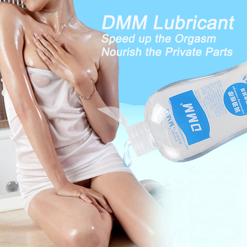 DMM Water Soluble Transparent Lubricant Smooth Odorless Safe Lubrication For Couple Sex