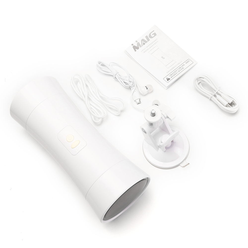 Double Holes Realistic Mouth Pussy Male Masturbators Moaning USB Rechargeable