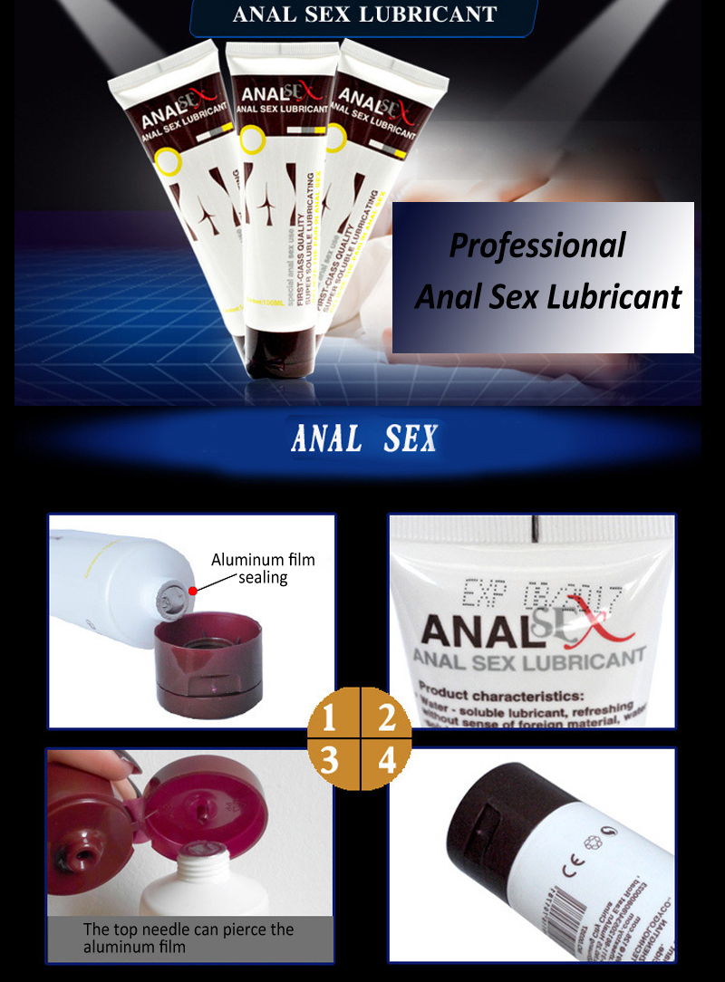 Water Based Anal Sex Lube Water Based Lubricant Sex Toys For Couples By Secrexy