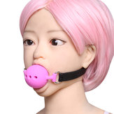 3 Sizes Open Mouth Breathable Ball Gags Restraints BDSM Wear Sex Toys
