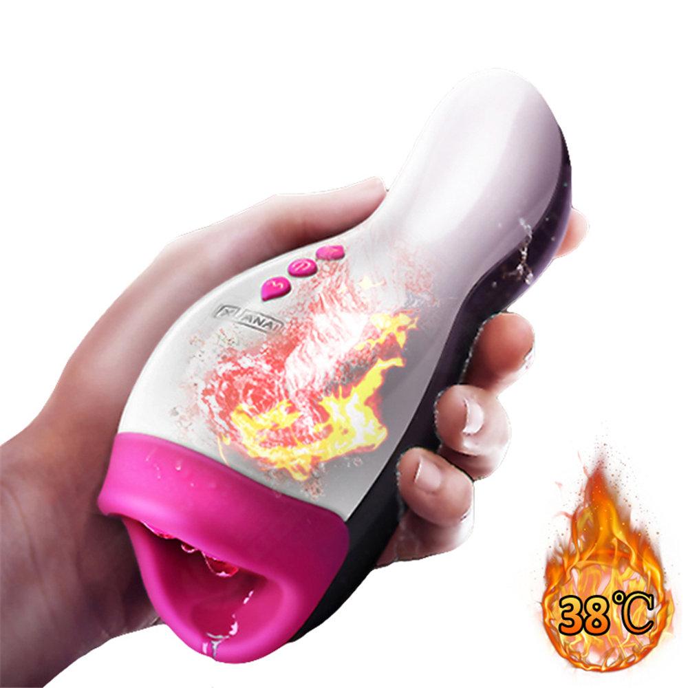 XUANAI Heating Strong Vibrating Masturbators Voice Interation Waterproof Oral Sex
