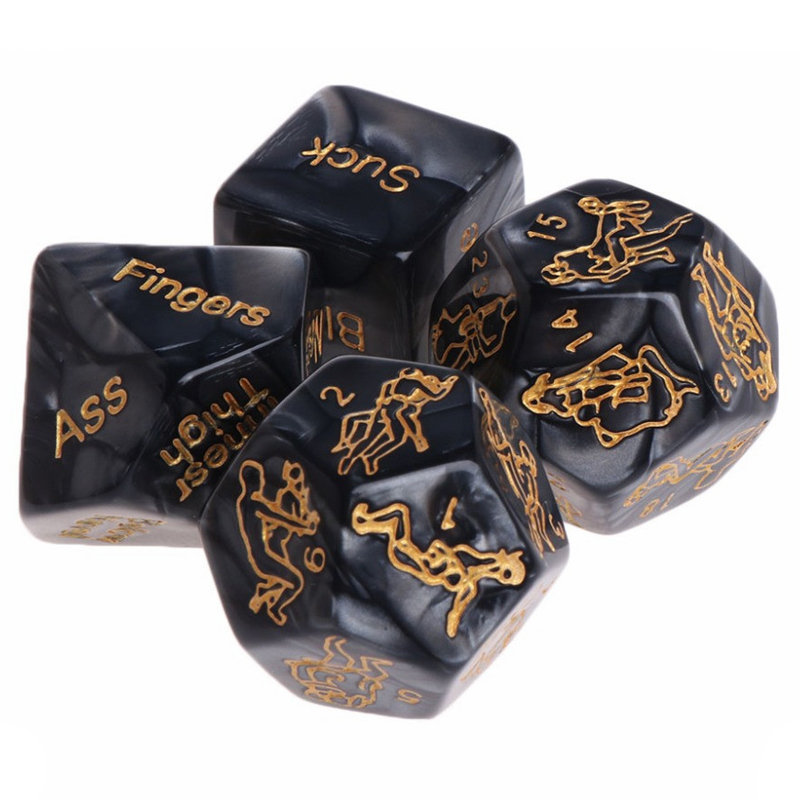 Dozens Sex Position Foreplay Upscale Dice Game